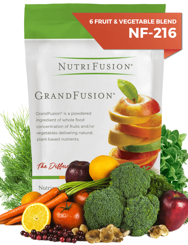 fruit vegetables powdered vitamins nutrifusion grandfusion