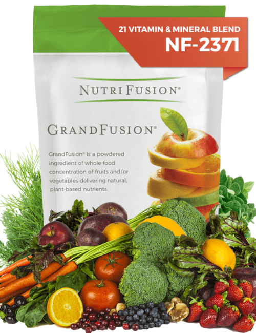 plant based vitamins and minerals fruits vegetables grandfusion nutrifusion whole food
