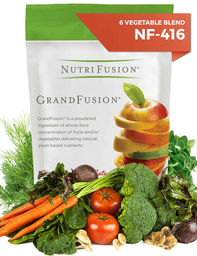 nutrifusion grandfusion vegetable blend powdered vitamins
