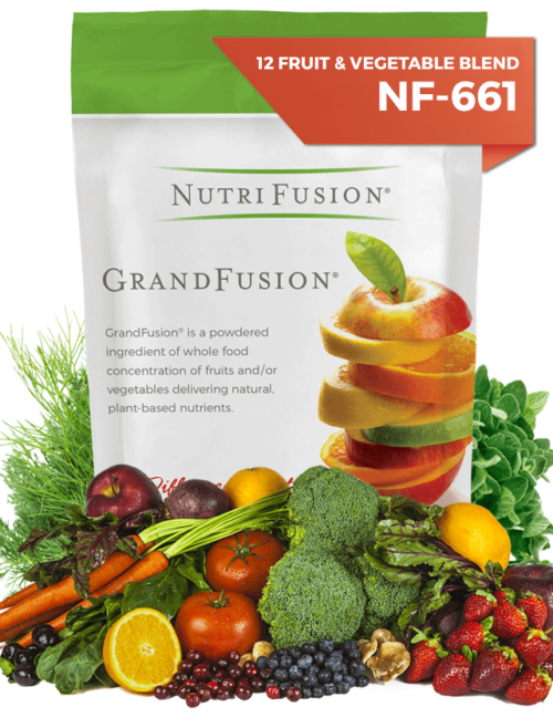 nutrifusion fruit and vegetable grandfusion 12 vitamins plant based
